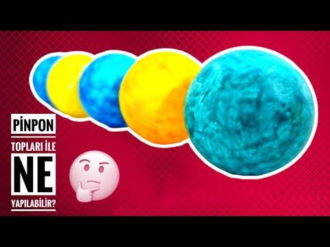Pinpon Topu Ile Yapabileceginiz 4 Super Sey Ilginc Bilgiler Youtube