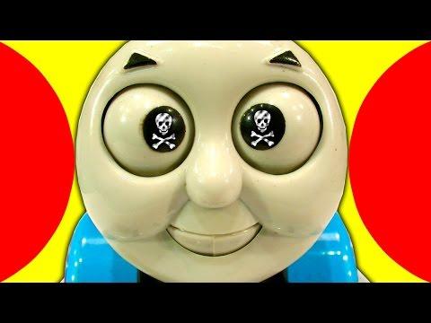Thomas The Tank Vs Hydraulic Press Dark Side Derpy Toy Test