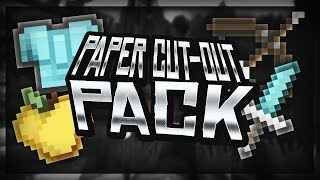 Minecraft PvP Resource Pack (1.7-1.8-1.9) | Paper Cut-Out Edit
