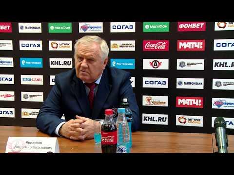 """Пресс-конференция """"Автомобилист"""" - """"Адмирал"""""""