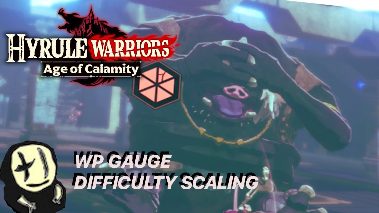 Weakpoint Gauge Difficulty Scaling Comparisons Hyrule Warriors Age Of Calamity Youtube