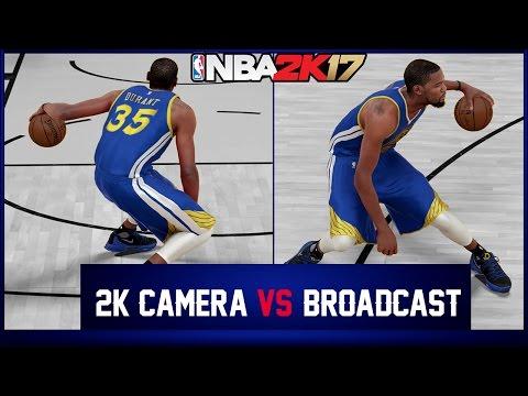 BEST CAMERA VIEW IN NBA 2K - BROADCAST VS 2K