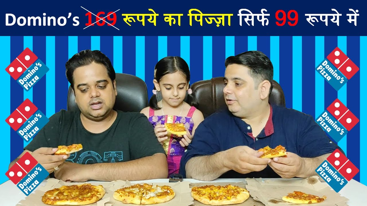 Domino's 99 Rs. Pizza Offer ! Moroccan Spice Pasta Pizza ! Food Vlog India