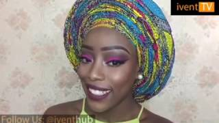 Download Video How to tie Infinity pleat Ankara gele by Christiana's Closet MP3 3GP MP4