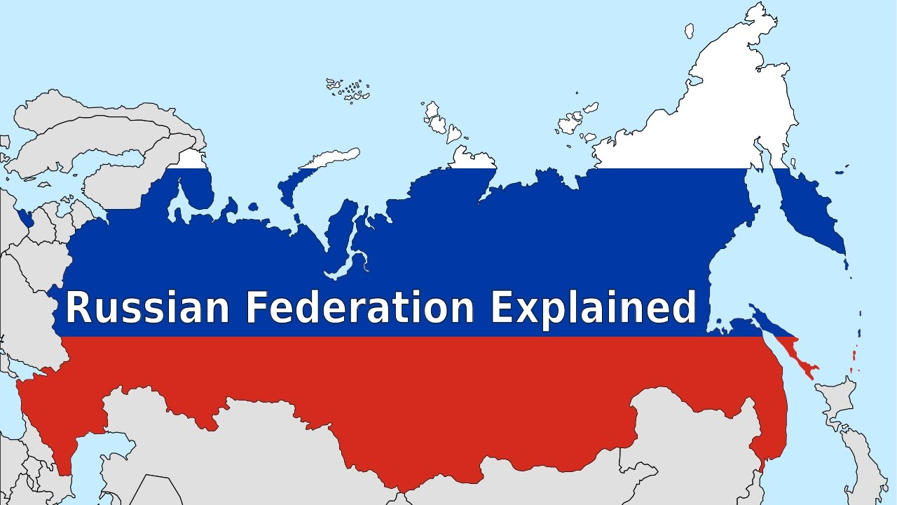 Russian Federation Map Russian Federation Explained   YouTube