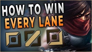 How To Win Every Lane For Your Team As Talon - Challenger Talon Carry
