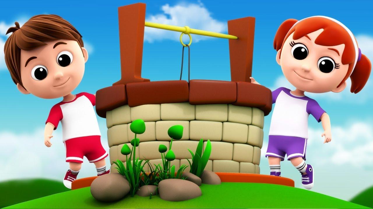 Jack And Jill Nursery Rhymes Kids Songs Baby Video
