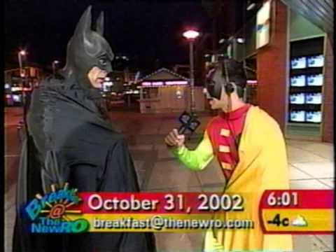 halloween at the NEW RO tv station in Ottawa part 1 2002