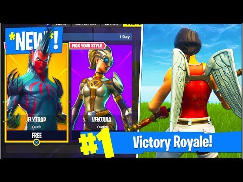 New secret flytrap ventura skins in fortnite - Ventura fortnite ...