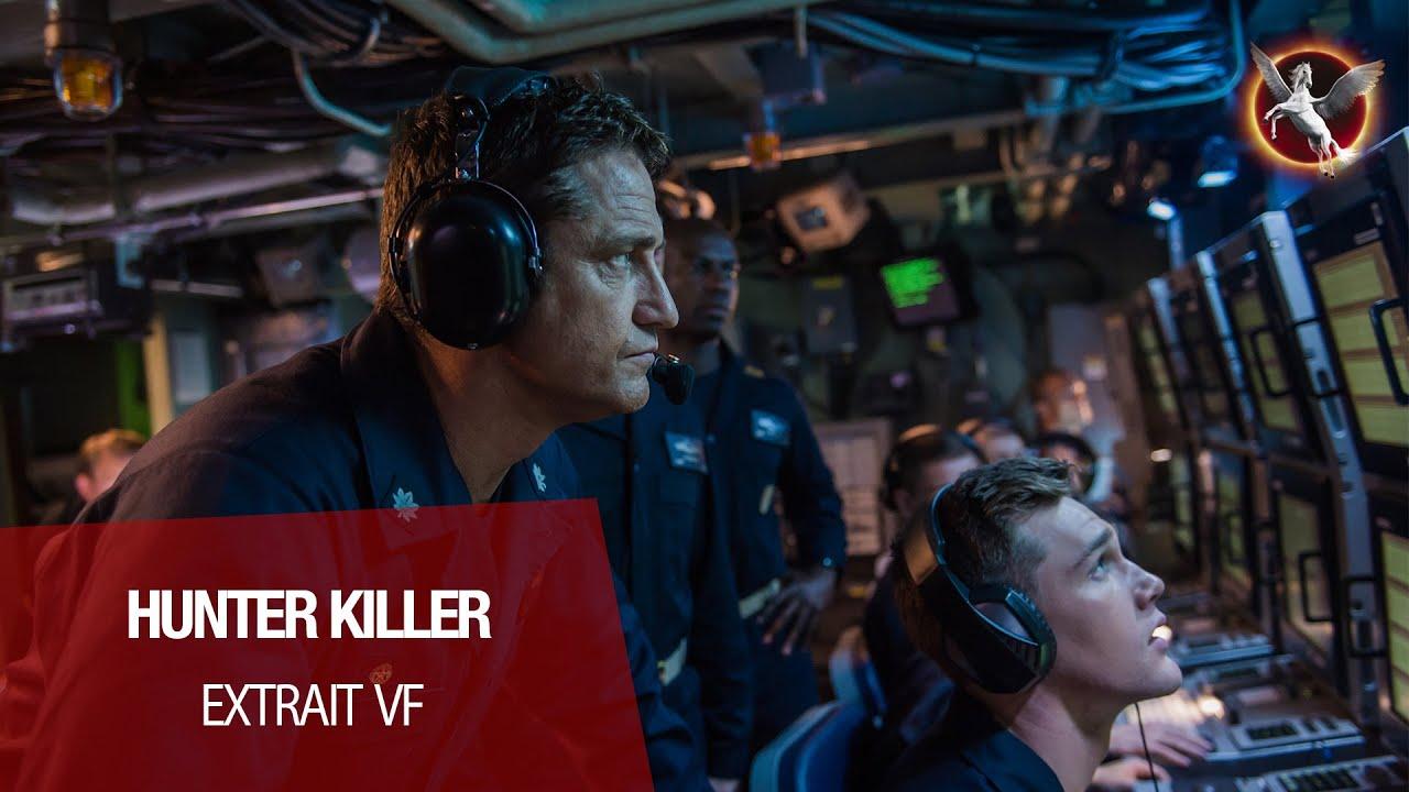 "HUNTER KILLER (Gerard Butler, Gary Oldman) - Extrait VF ""impact imminent """