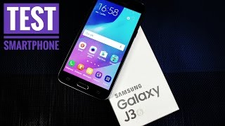 TEST du SAMSUNG Galaxy J3 (2016) - High Tech
