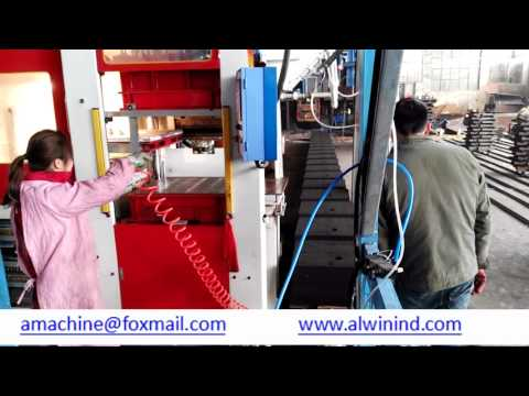 Alwin automatic flaskless moulding line and sand reclamation