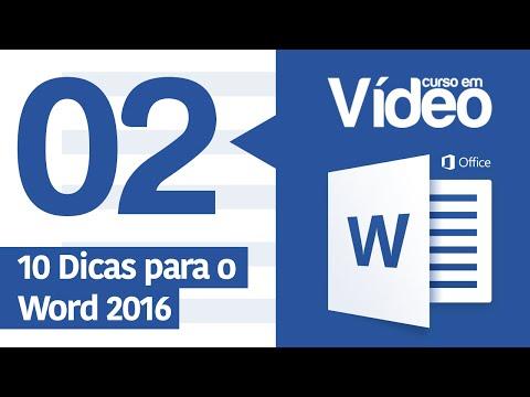 Curso Word #02 - 10 Dicas para Word 2016