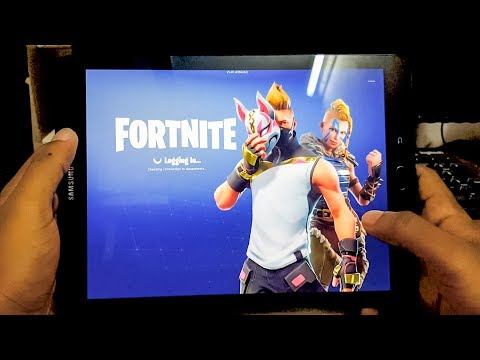 Fortnite On Galaxy Tab S3 - Surprising Results!!!