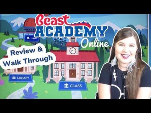 Beast Academy Online Review and Walk Through    Homeschool Math