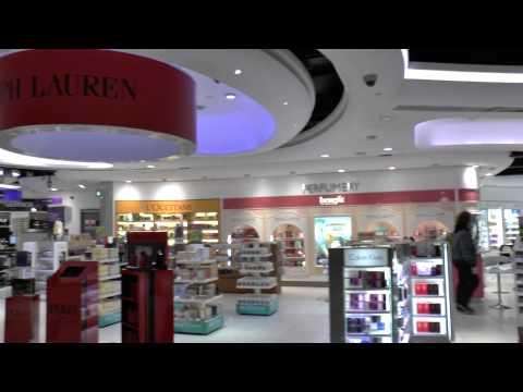 Shops and Duty free,Terminal 1, Dublin Airport, Ireland