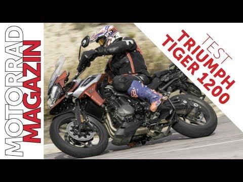 Triumph Tiger 1200 2018 Im Motorradmagazin Test Youtube
