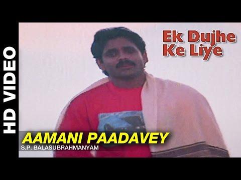Aamani Paadavey | Ek Dujhe Ke Liye | Akkineni Nagarjuna, Girija Shettar