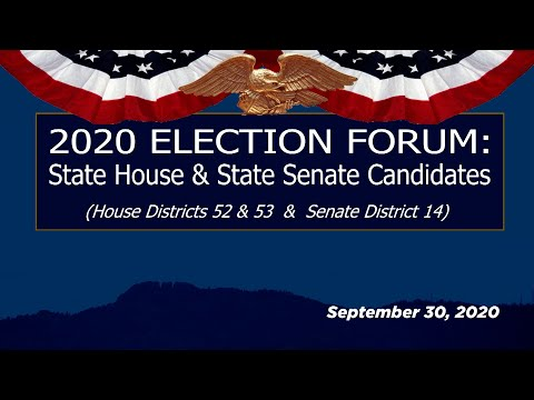 view 2020 Election Forum - State House & State Senate video