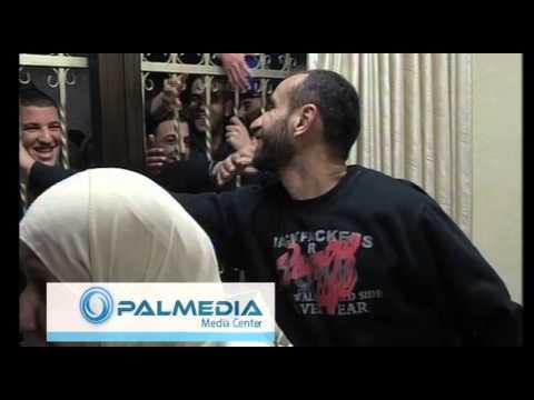 لحظة الافراج عن سامر العيساوي /Israel frees the Palestinian prisoner Samer al-Issawi