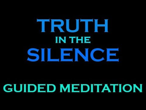 Guided Meditation: DEEP INNER SILENCE and PEACE to Help Solv
