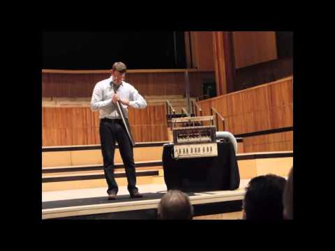 Andrew Scott demonstrates organ pipe voicing