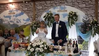 Прикольный и необычный сюрприз для молодожен на свадьбу!