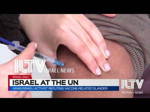 Arab-Israeli Activist Refuting Vaccine-related Slander