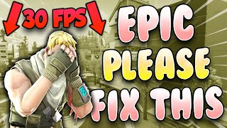 Why Fortnite Nintendo Switch Really Needs To Fix Their FPS..