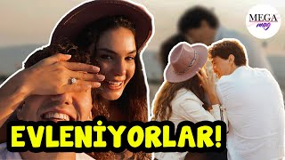 Cedi Osman'dan Ebru Şahin'e romantik evlilik teklifi!