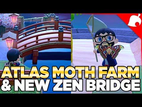 1.1.3a Update, Villager Mountain u0026 Atlas Moth Farming in Animal Crossing New Horizons