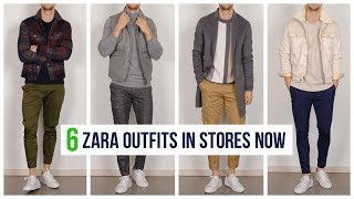 6 Zara Outfits in Stores Right Now | Men's Fashion | Outfit Ideas
