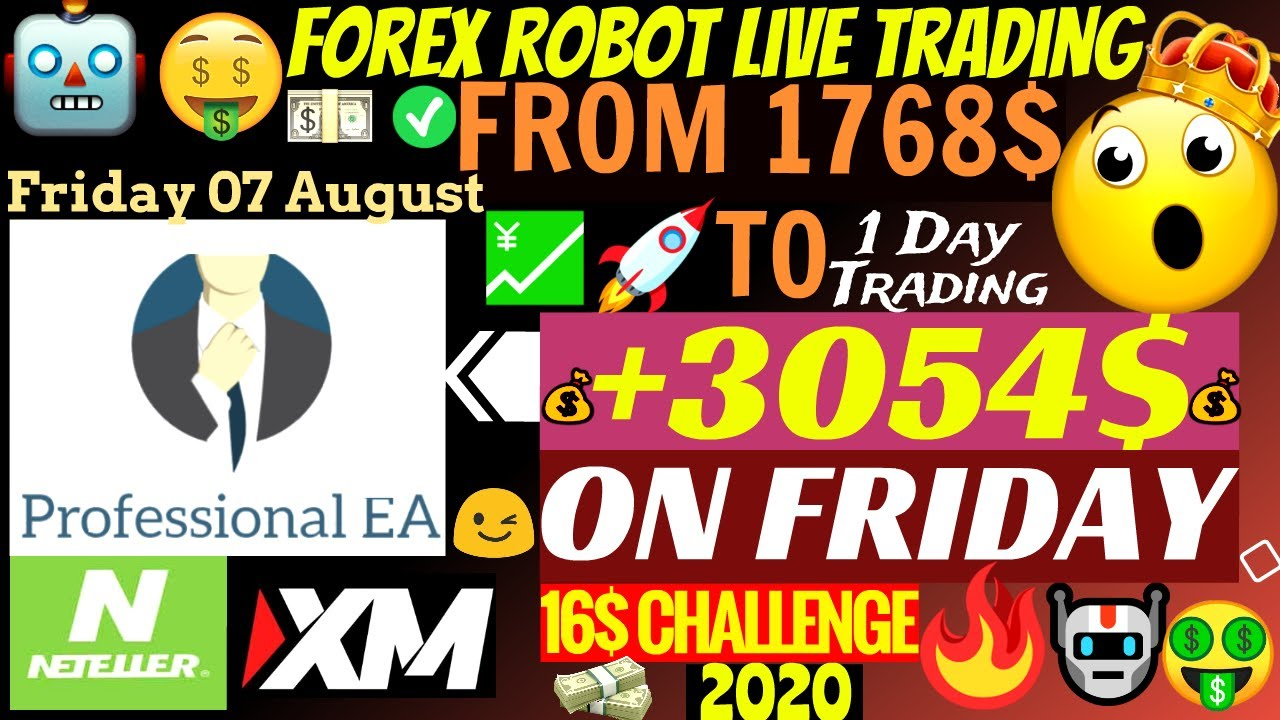 📈 Forex Robot Live EA Makes Account Grow To +3054$ In 2 Days!!!🤑 | Professional EA
