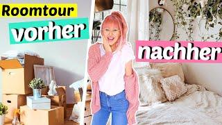 Mein neues ZIMMER Vorher/Nachher 😍 + Roomtour & DIY | ViktoriaSarina