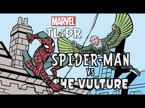 Spider-Man vs. The Vulture in 2 Minutes- Marvel TL;DR
