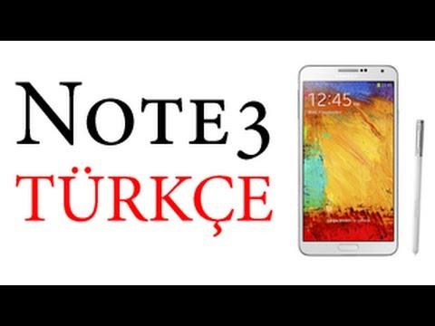 Samsung Galaxy Note 3 İnceleme TÜRKÇE