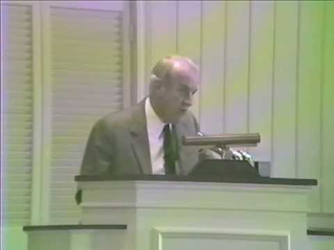"Dr. S. Lewis Johnson Revelation 1:9-20 ""Christ Among The Candlesticks"""