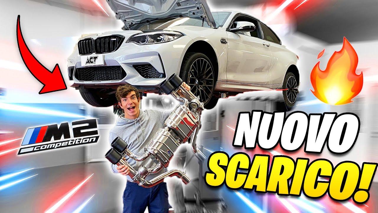 NUOVO SCARICO ALLA BMW M2!