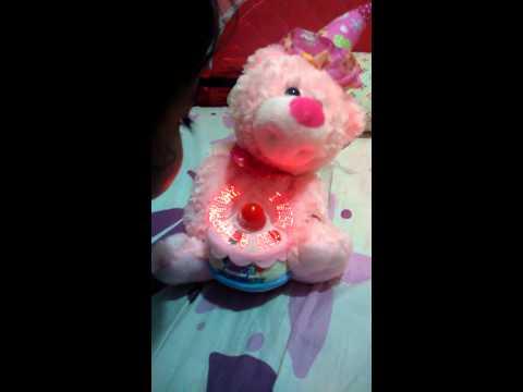 Stuffed Toy Singing Happy Birthday Unboxing