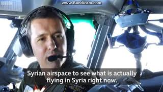 On board the 'eye in the sky' watching Syria