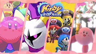 Kirby Star Allies for Nintendo Switch ᴴᴰ (2018) Full 100% Playthrough (Includes 4.0 DLC)
