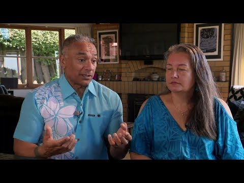 Laughing Samoan Ete and wife Mele share their story of family violence