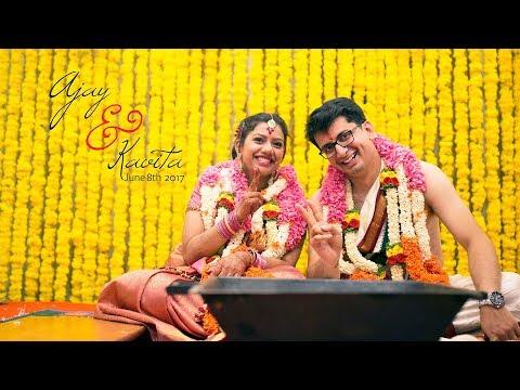 The Wedding Highlights: {Ajay+Kavita} @Ganjam Mantap, Bangalore