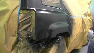 Painting a Black Metallic Car