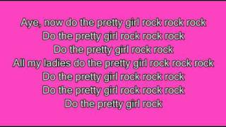 Keri Hilson- Pretty Girl Rock [High Quality] Lyrics on screen
