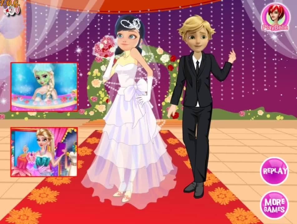 Игры свадьба леди баг и супер кот