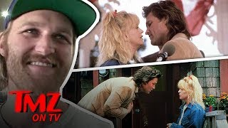 Kurt Russell & Goldie Hawn's Son Says His Paren't Are Totally Normal | TMZ TV