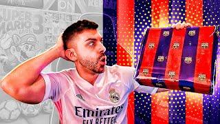 EL FC BARCELONA ME ENVÍA ESTA CAJA