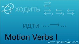Russian Motion Verbs I: An Introduction