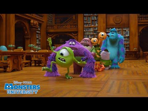 Download Library Task 📚 | Monsters University | Disney Channel UK